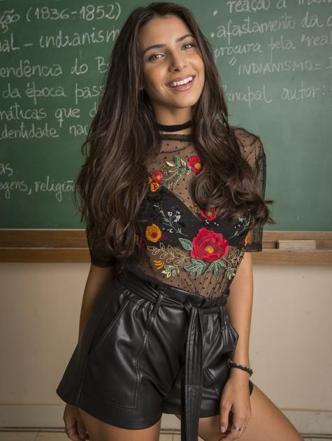 Rayssa Bratillieri (Foto: Rede Globo / João Cotta)
