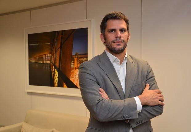 Ezequiel Petradertre, diretor-geral da Superdigital, a fintech do Santander (Foto: Divulgação)