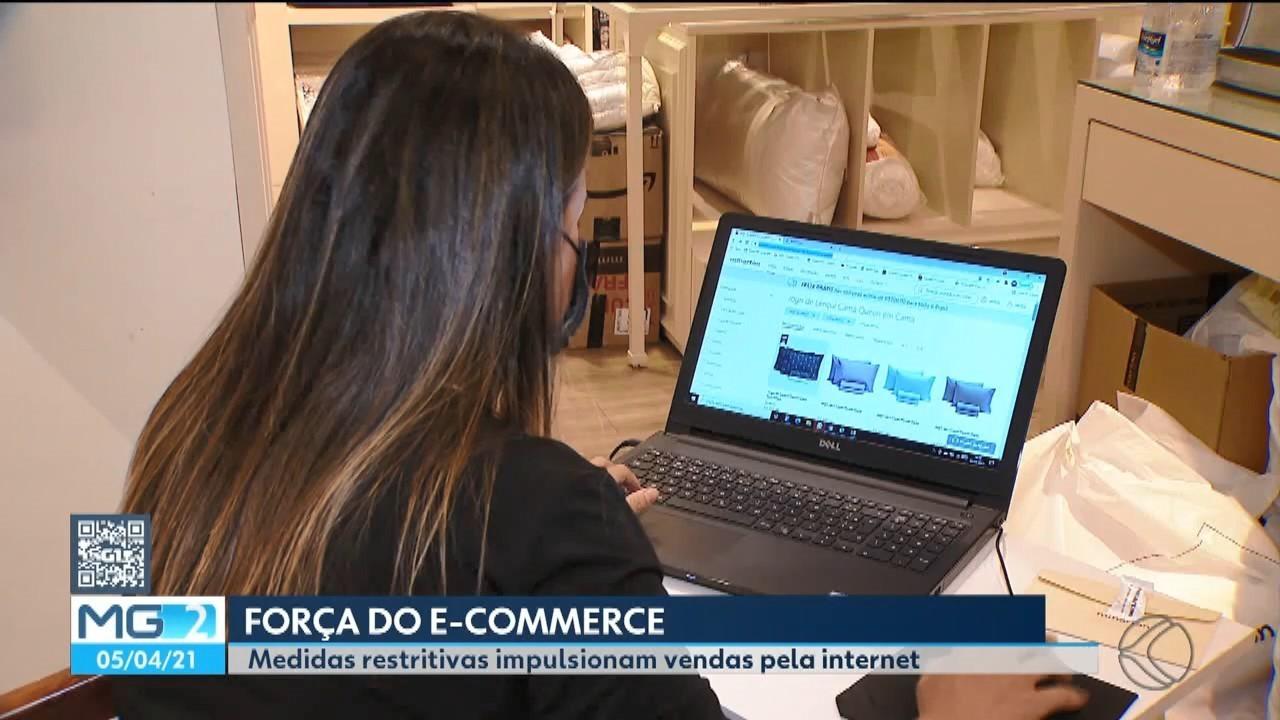 Número de pessoas que fazem compras pela internet pela 1ª vez cresce em Uberlândia