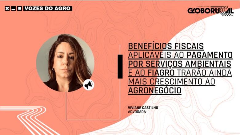 Vozes do Agro - Viviane Castilho Fiagro (Foto: Estúdio de Criação)