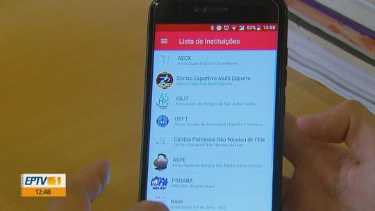 Aplicativo facilita doação de dinheiro para entidades e ONGs em São Carlos