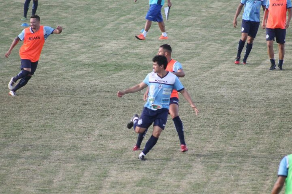 Treino Parnahyba (Foto: Jorge Alves/Parnahyba SC)