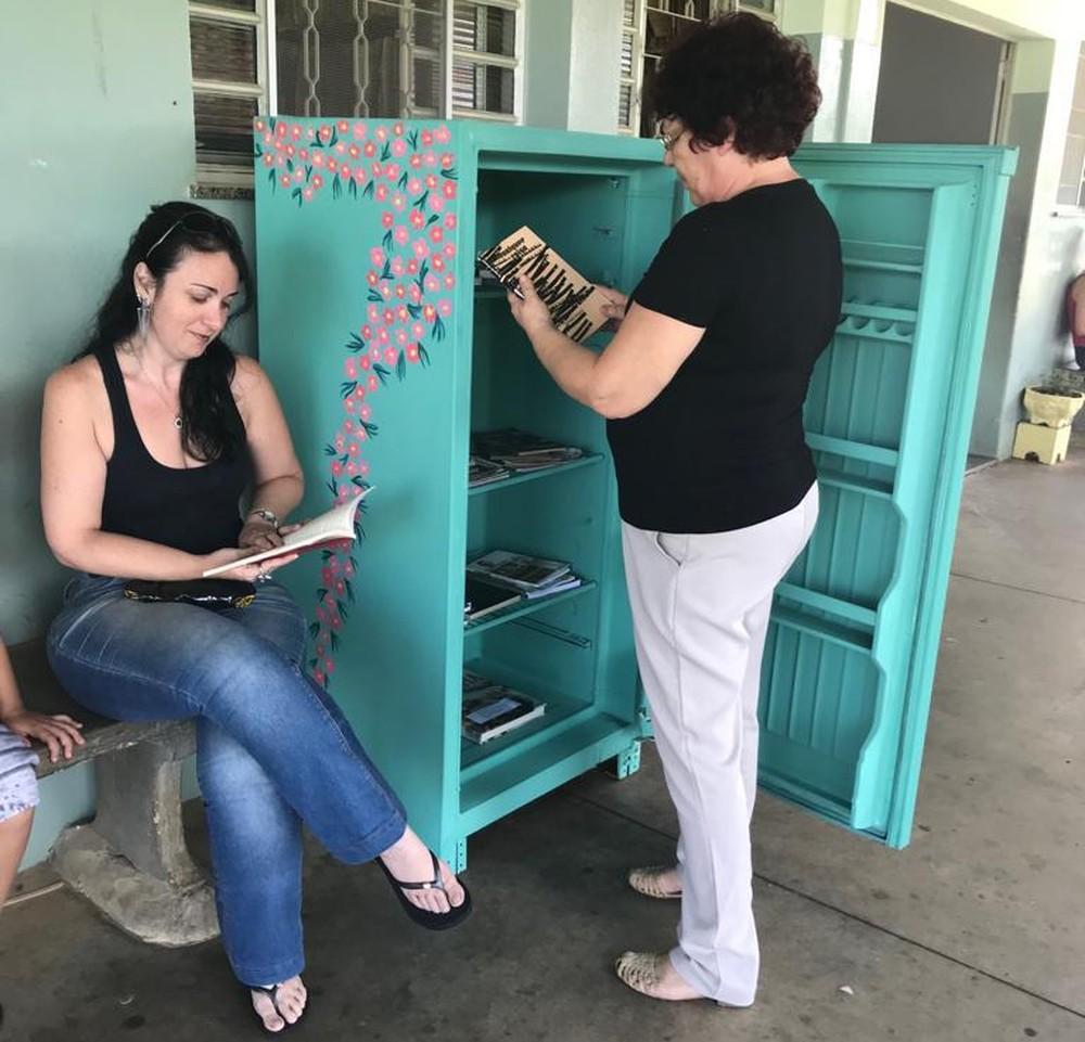 Grupo Prata Florida pede doações de geladeiras para reforma — Foto: Arquivo Pessoal