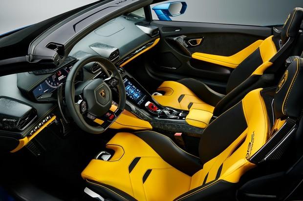 Lamborghini Huracán EVO RWD Spyder (Foto:  Divulgação)