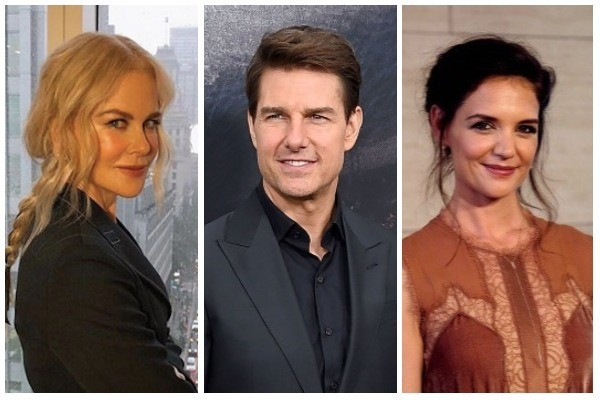 Nicole Kidman, Tom Cruise, Katie Holmes (Foto: Getty Images)