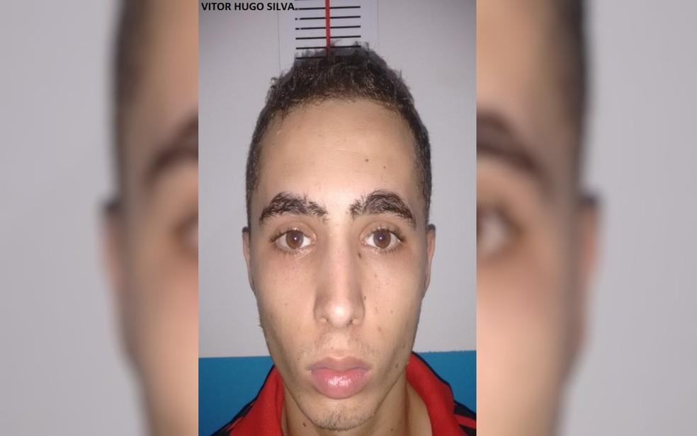 Victor Hugo Silva, que fugiu da cadeia de Uruaçu, em Goiás — Foto: DGAP/Divulgação