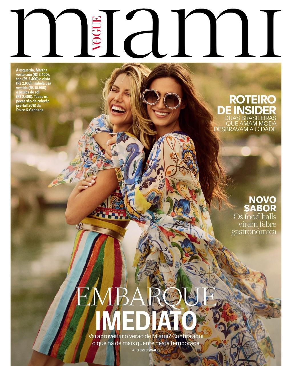 Vogue Miami (Foto: Greg Swales/ Vogue Brasil)