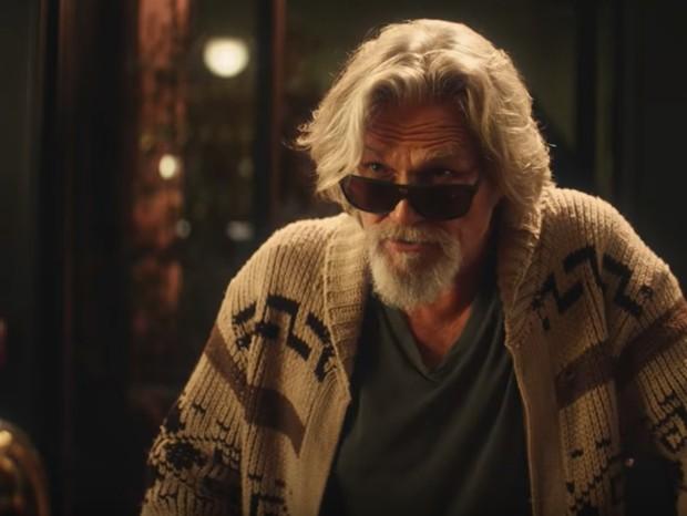 """Jeff Bridges revive o """"Cara"""" em comercial do Super Bowl (Foto: reprodução)"""