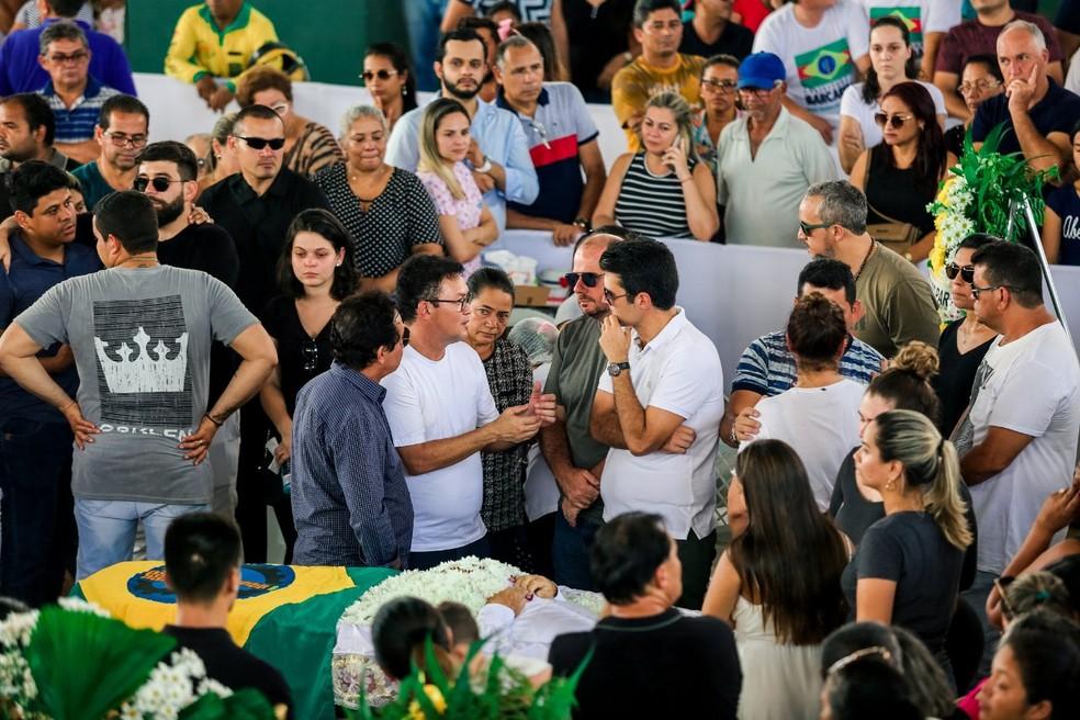whatsapp image 2019 09 08 at 16.40.29 - Antônio Vilaça, prefeito de Barcarena, é velado em ginásio municipal
