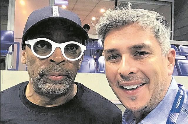 Spike Lee e Ivan Moré (Foto: Arquivo pessoal)
