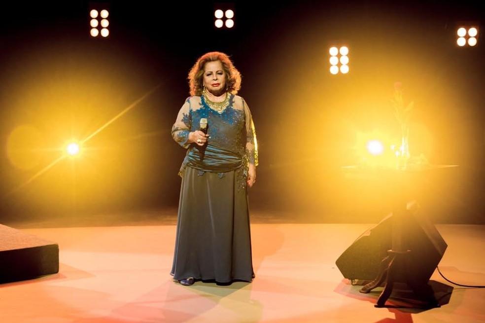 A cantora Angela Maria — Foto: Reprodução / Facebook