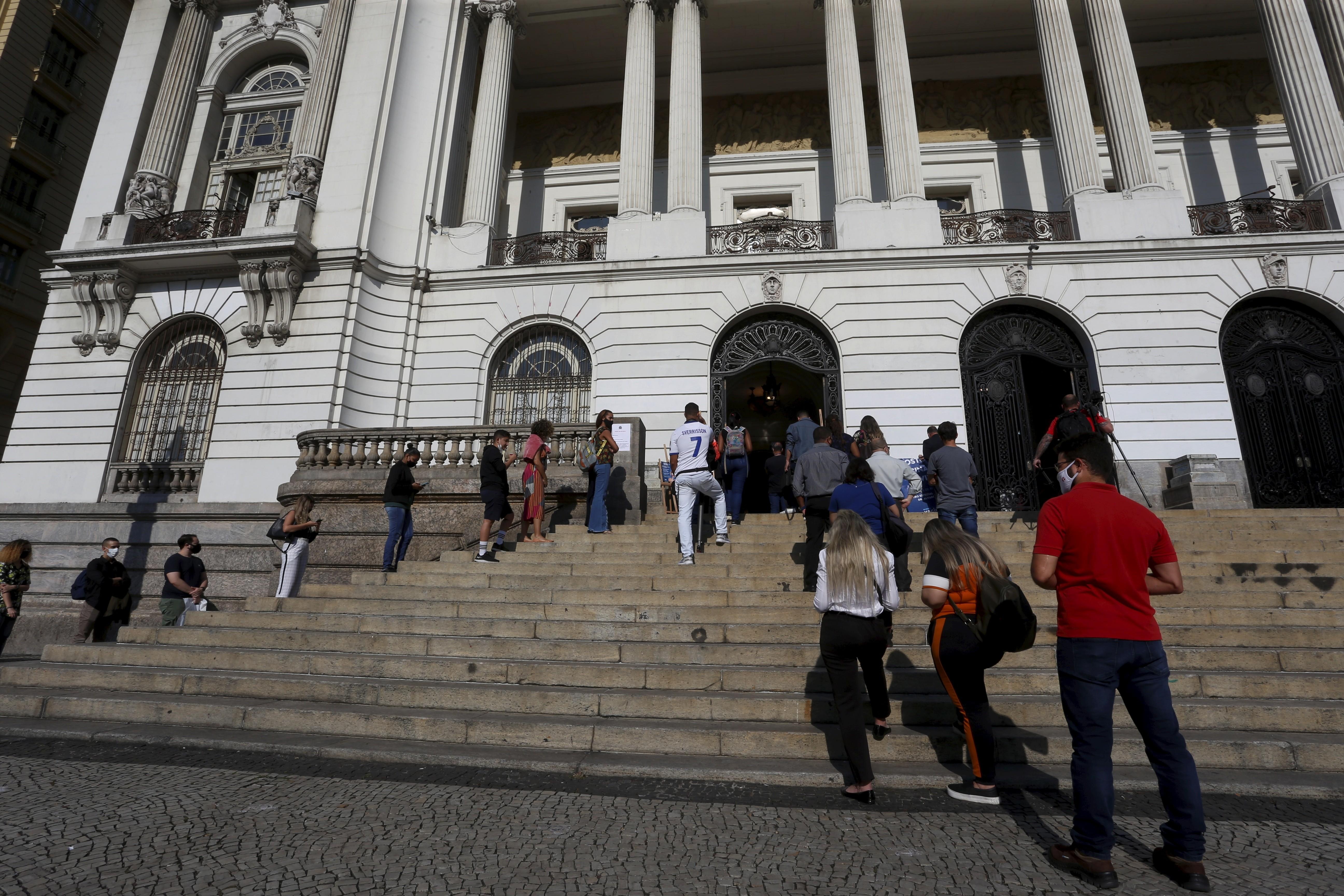A Câmara do Rio: votação em caráter de urgência