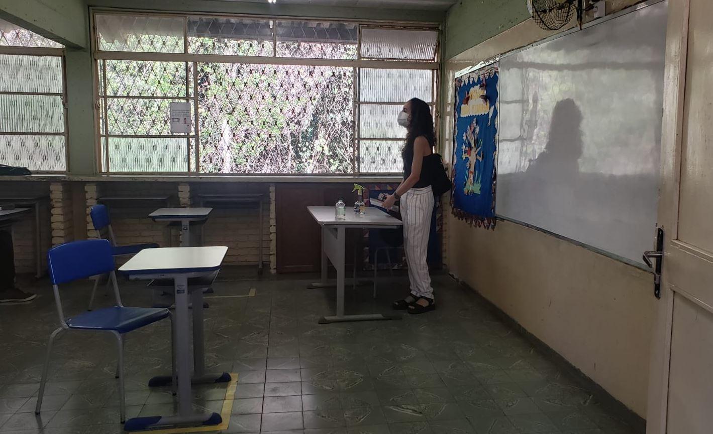 Aulas presenciais serão obrigatórias na rede estadual de educação em Minas Gerais