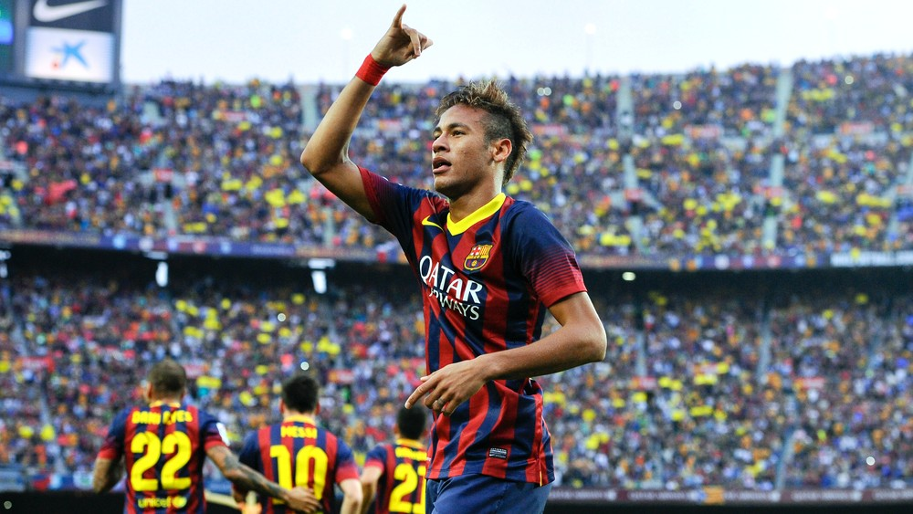 Neymar Barcelona Real Madrid 2013