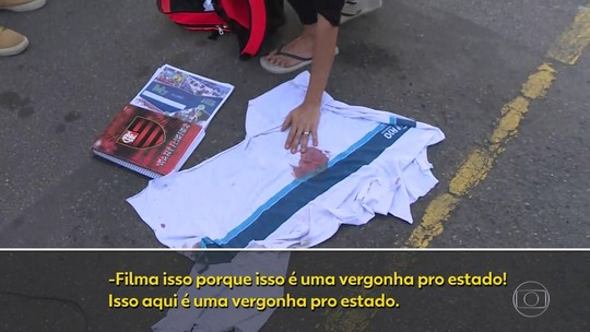 Testemunha diz que não veio do alto o tiro que matou o menino numa ação policial no Rio