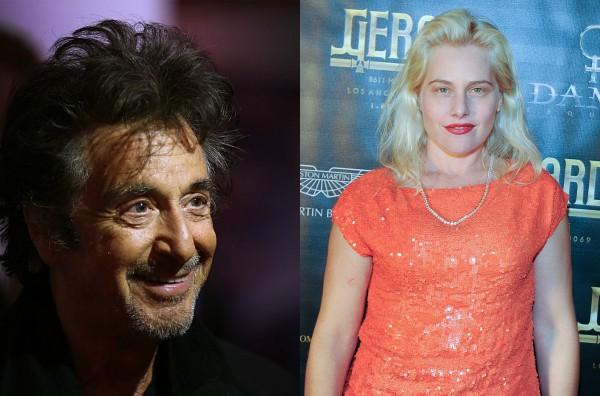 Al Pacino e Meital Dohan (Foto: Getty Images)