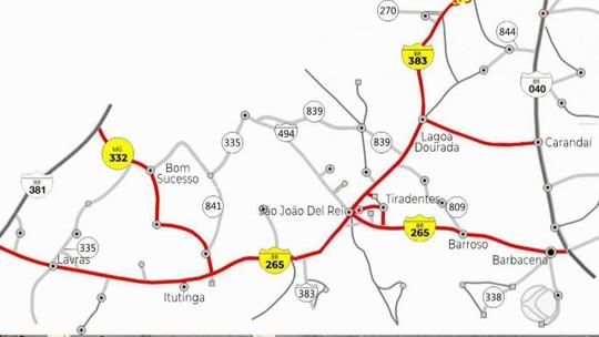Governo de MG anuncia privatização de rodovias na região de São João del Rei