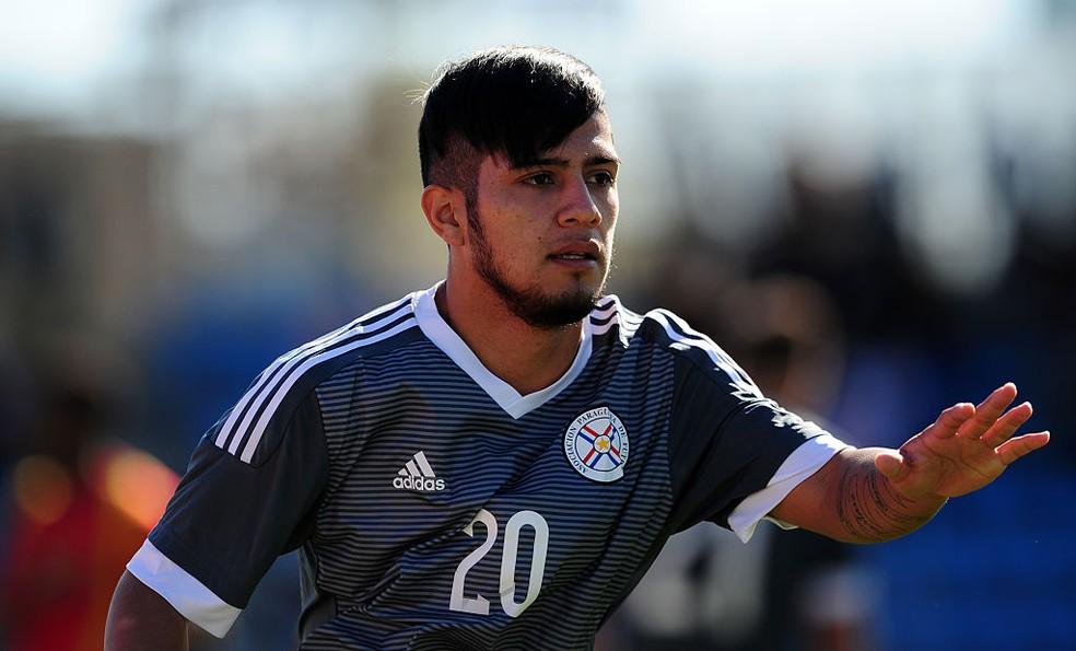 Paraguaio Sergio Díaz é atacante (Foto: Getty Images)