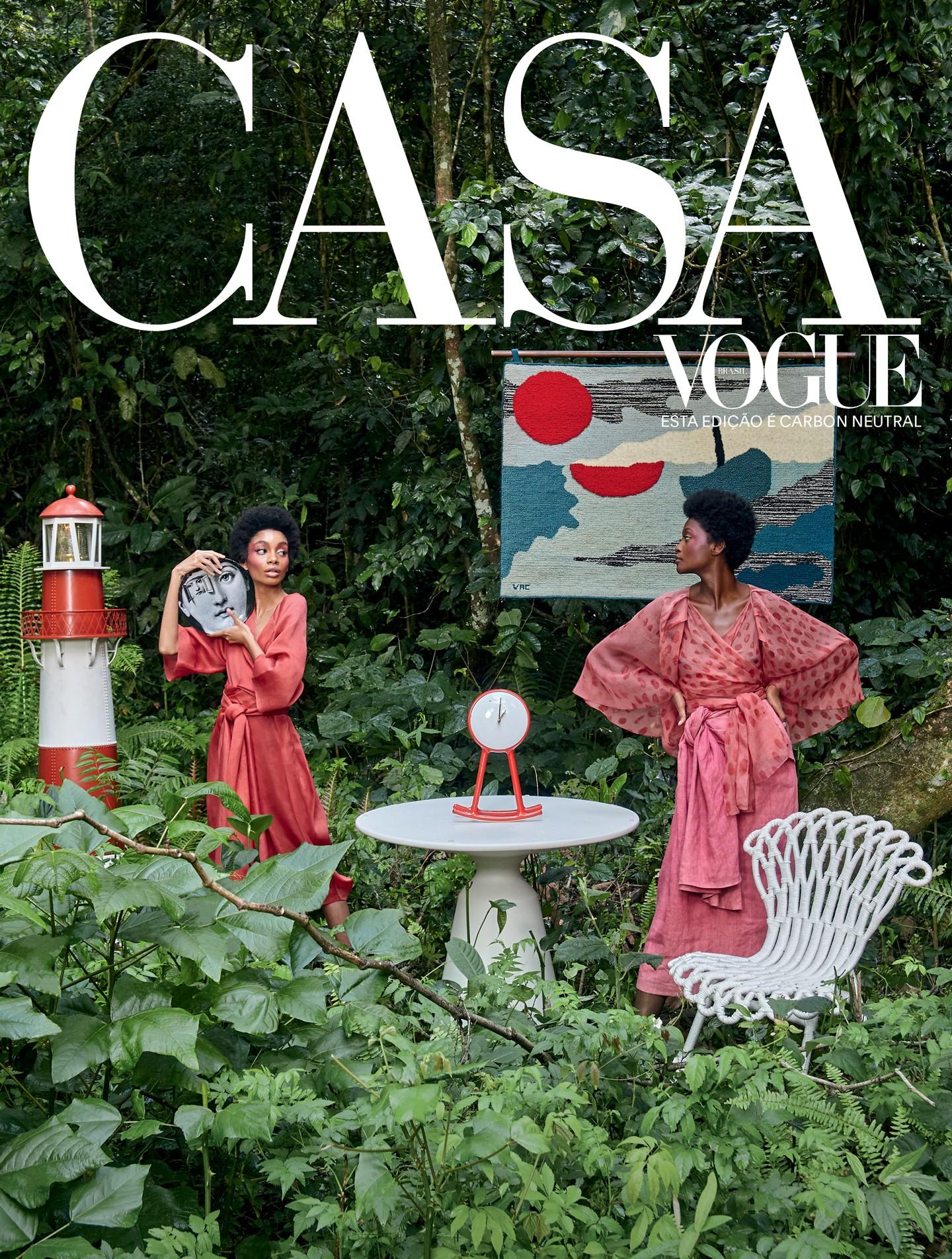 Edição de janeiro da Casa Vogue abre 2020 com o tema leveza (Foto: Estilo Adriana Frattini Foto Ilana Bessler)