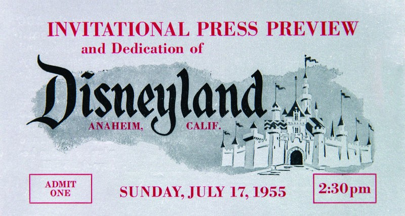 A coleção de Kraft revela os primeiros anos de vida da Disneyland (Foto: Cortesia de Van Eaton Galleries)