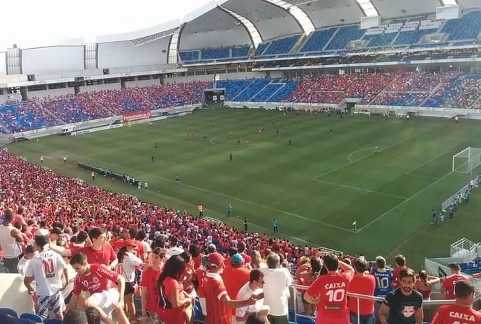Arena das Dunas - América-RN x Globo (Foto: Yuri Victor)