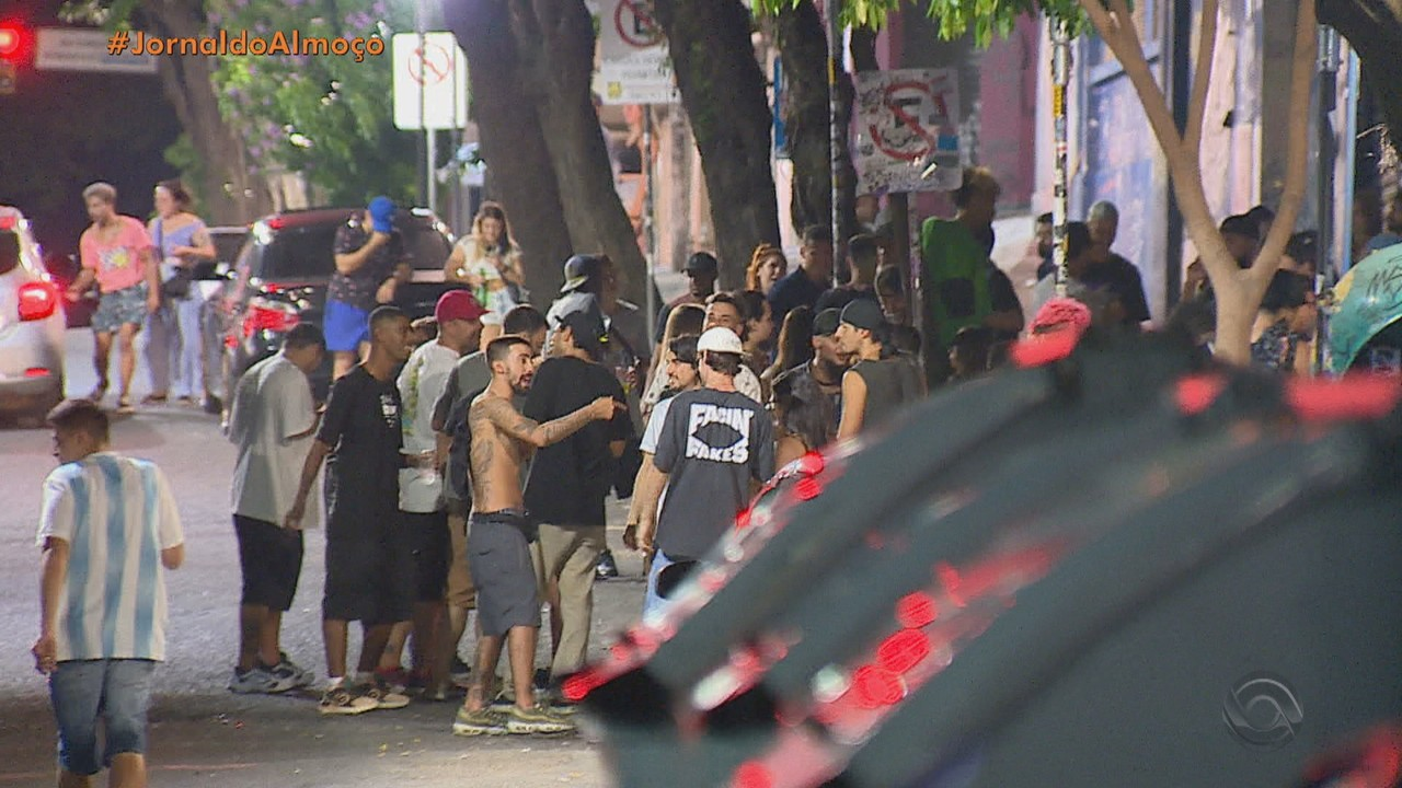 Guarda Municipal dispersa aglomerações em Porto Alegre