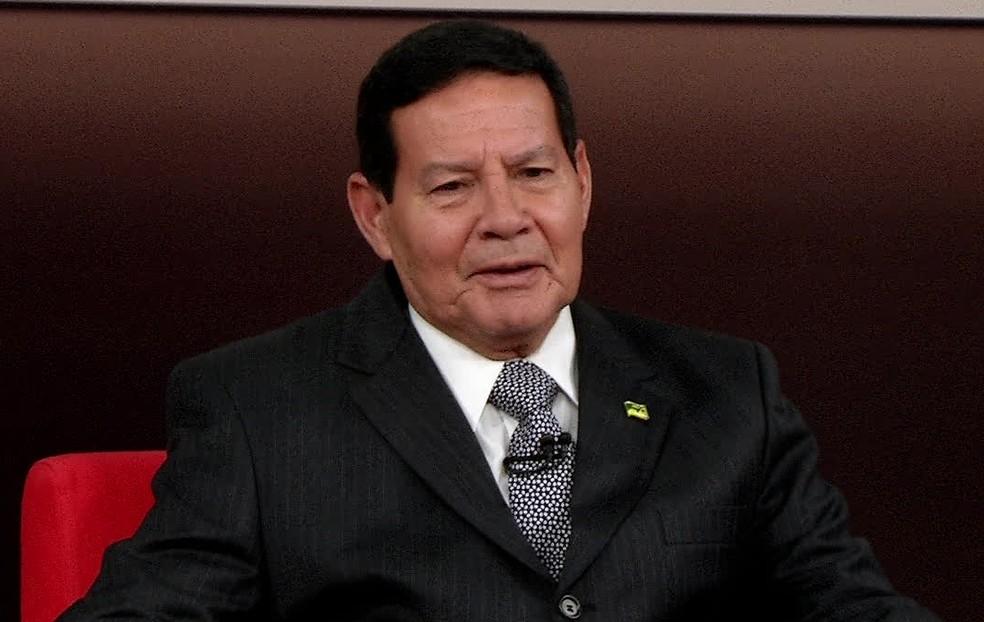 General Mourão — Foto: Reprodução/GloboNews