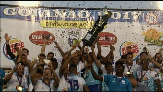 Grêmio Anápolis empata com a Anapolina e é campeão da Divisão de Acesso