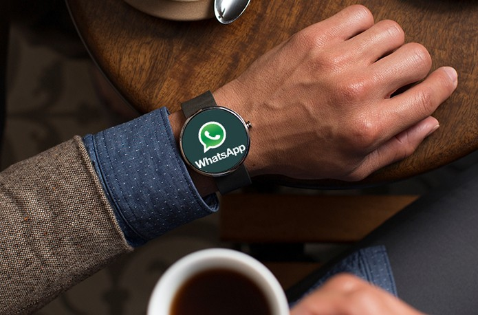 WhatsApp poderá exibir notificações no Moto 360 e outros relógios com Android Wear (Foto: Arte/Divulgação)