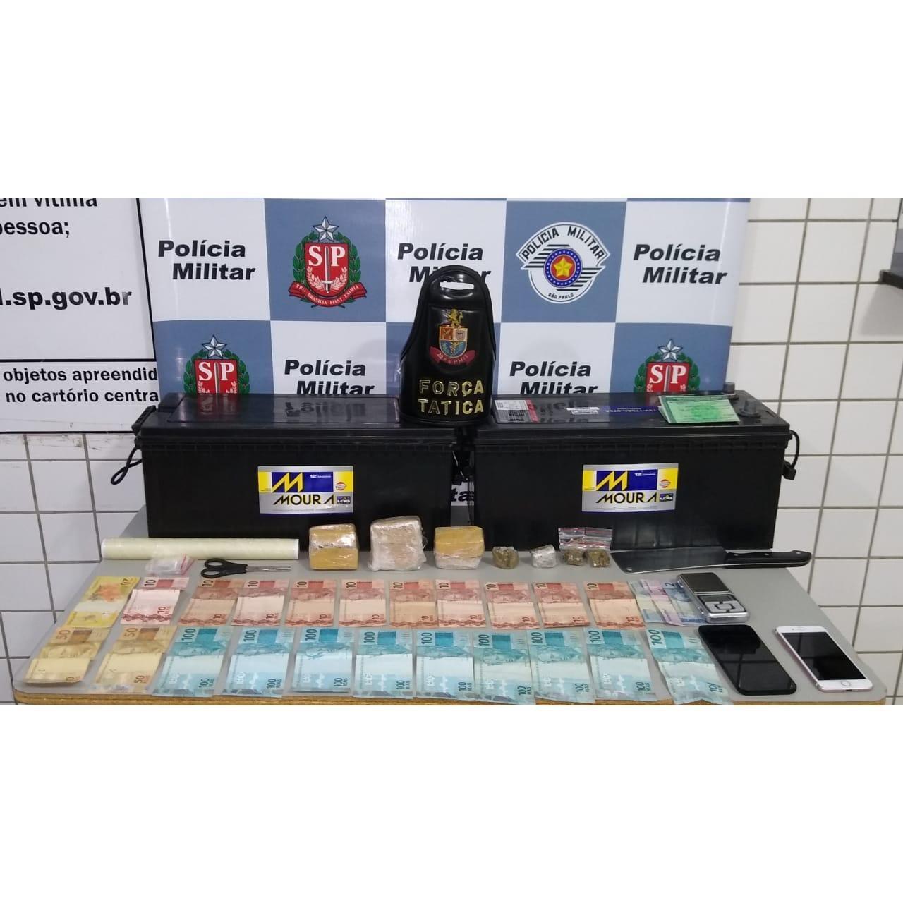 Homem é preso suspeito de vender drogas por 'delivery' em Tatuí