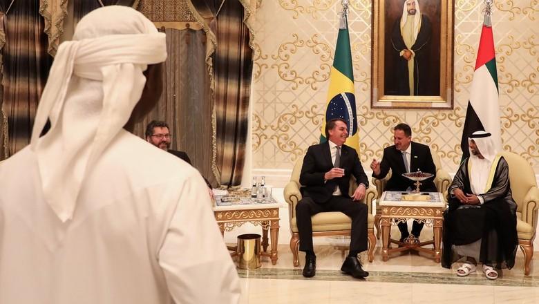 bolsonaro-emirados-arabes (Foto: Palácio do Planalto)