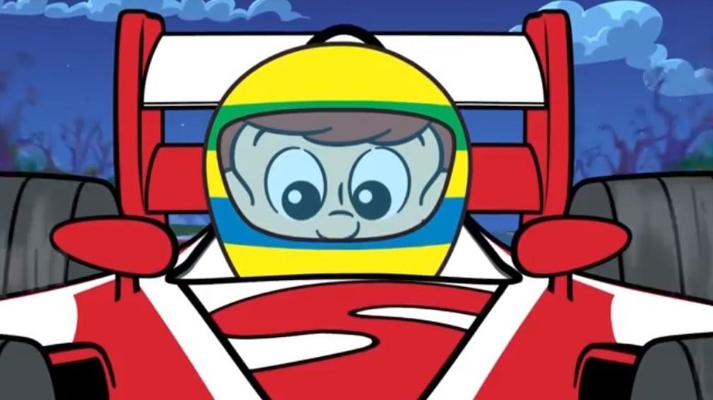 Desenho Animado E Quadrinhos Do Senninha Liberados Na Web Voando Baixo Ge