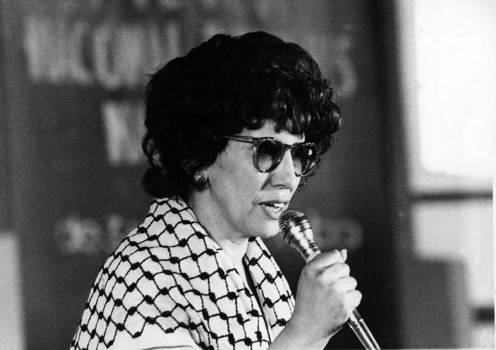 Ruth Escobar em 1982 (Foto: Estadão Conteúdo/Arquivo)