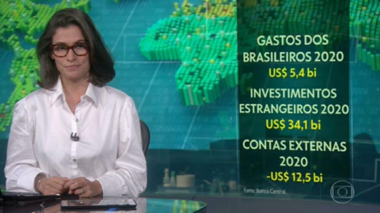 Gastos dos brasileiros no exterior ficam no menor valor em 15 anos