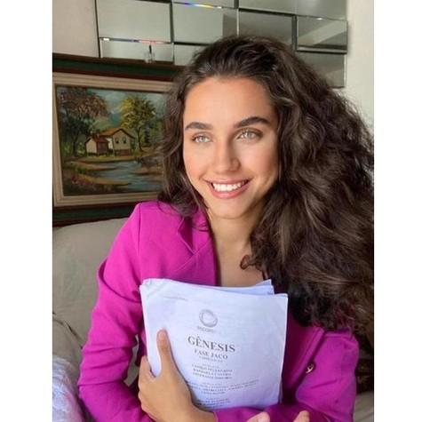 Giovanna Coimbra fará 'Gênesis' (Foto: Arquivo pessoal)