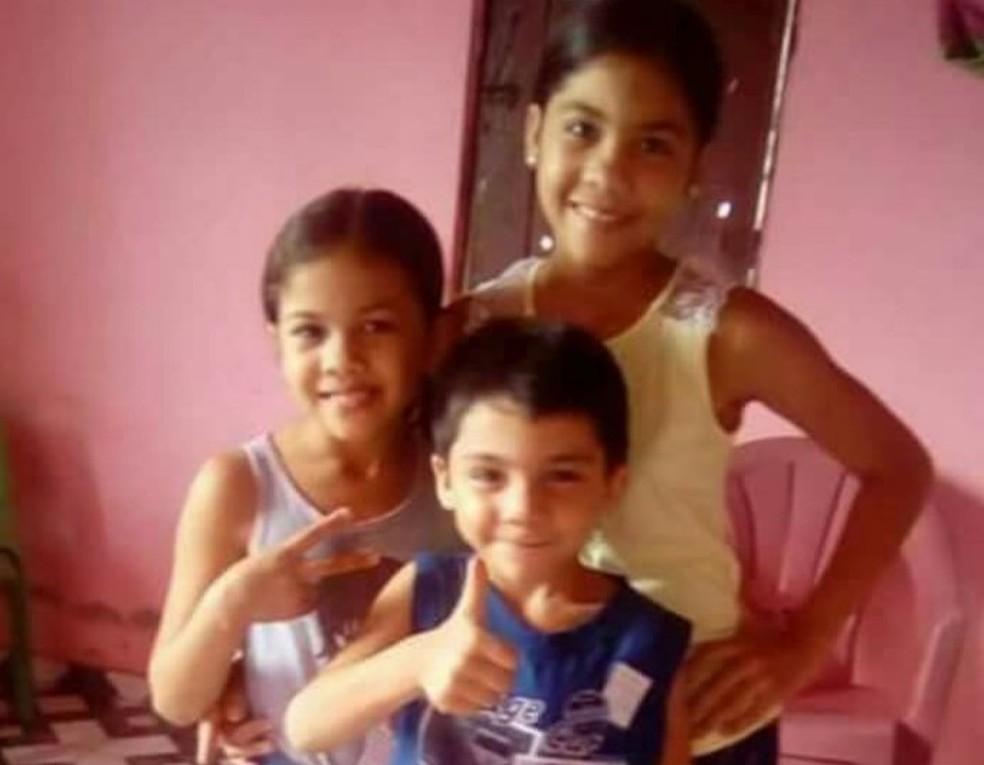 -  Três crianças e mulher morrem incendiadas em casa em Ipueiras, no Ceará  Foto: Arquivo pessoal