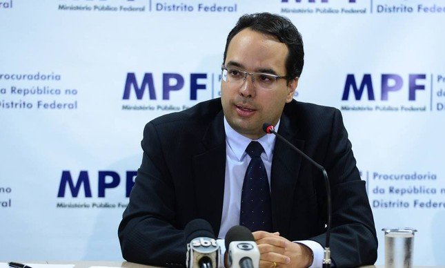 O coordenador da força-tarefa da Lava-Jato na PGR, José Alfredo de Paula