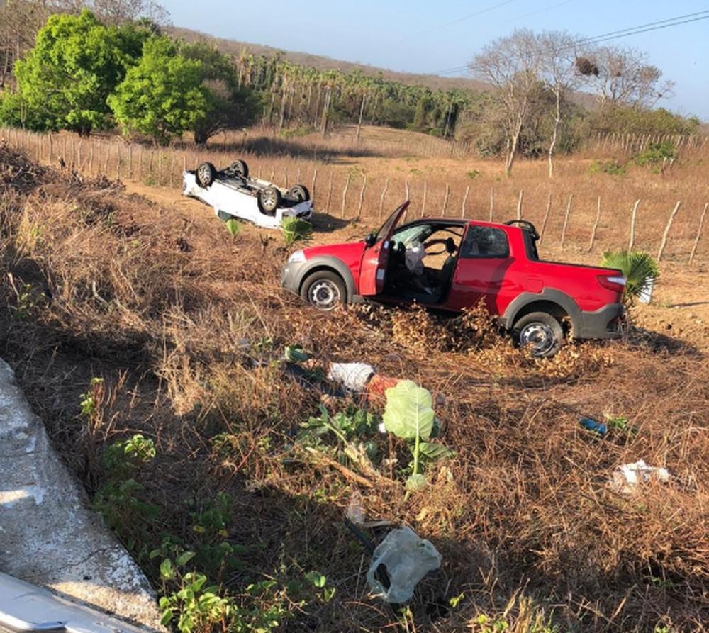 Idoso de 94 anos morre após colidir carro no interior do Ceará
