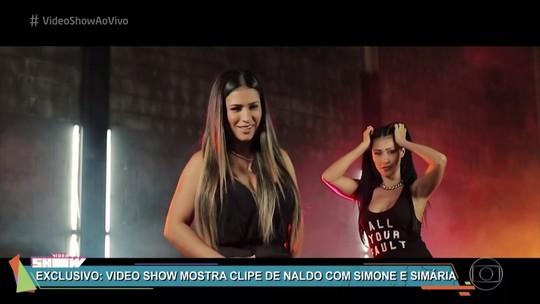 Simone & Simaria lançam clipe com Naldo Benny