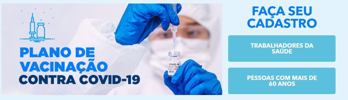 Cadastro para vacina contra a Covid-19 é aberto em Uberlândia para profissionais de saúde e idosos