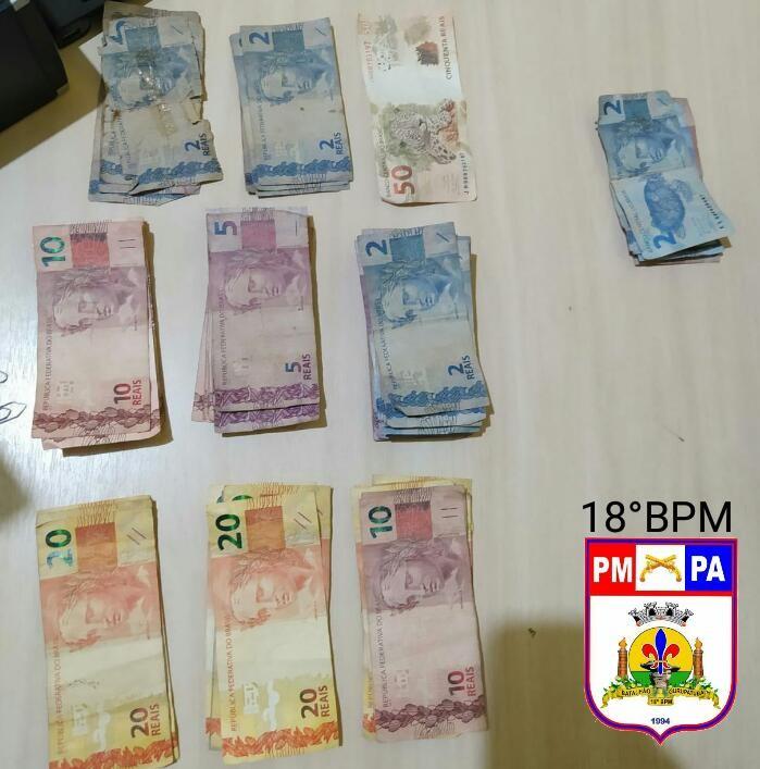 Polícia Militar prende suspeito de roubo em estabelecimento comercial de Monte Alegre