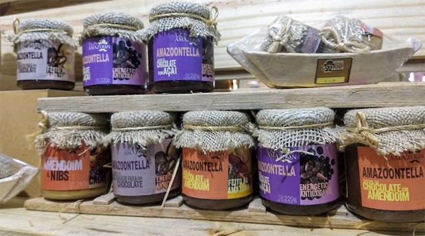 """Nutella da Amazônia"": produto da Dom Cookie usa ingredientes da selva  (Foto: Fabiano Candido)"