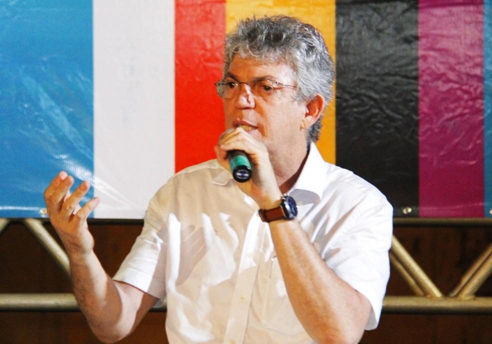Governador da Paraíba, Ricardo Coutinho — Foto: Junior Fernandes/Secom-PB