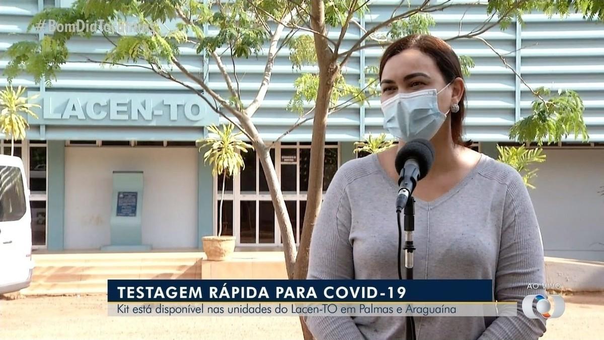 Mais de 30 mil kits de testagem rápida da Covid estão disponíveis para municípios do Tocantins