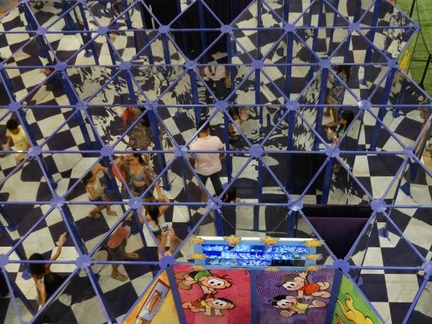 Shopping RioMar recebe Labirinto da Turma da Mônica (Foto: RioMar/G1/Divulgação)