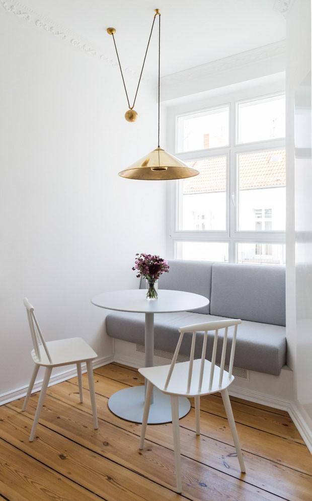 Apartamento em Berlim exalta paz após sobreviver às guerras (Foto: The White Arrow/ Courtesy)