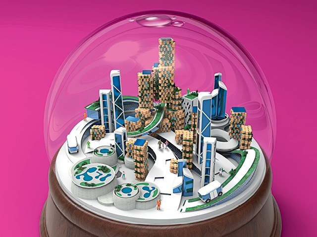 Smart Cities  (Foto: Ilustração: Davi Augusto)
