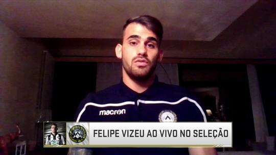 Felipe Vizeu, ex-Flamengo, fala sobre começo na Udinese e sombra de Zico