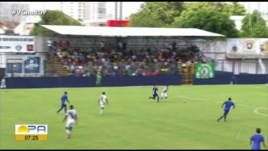 Assista aos gols do empate em 2 a 2 entre Tuna Luso e Vênus, pela Segundinha