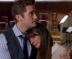 Cena de 'Glee', episódio 'The quarterback': despedida de Cory Monteith | Reprodução da internet